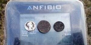 Находки с металлоискателем Anfibio Multi