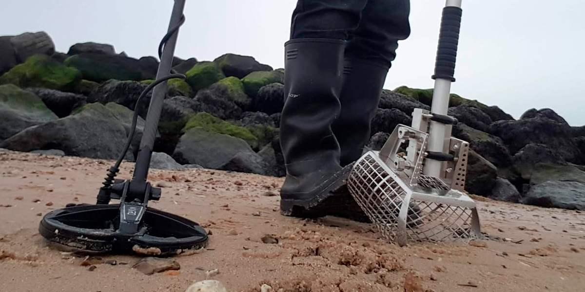 Скуб Nokta Makro 3 в 1 для пляжного поиска. Новинка!