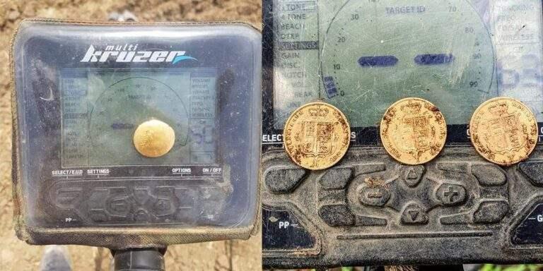 Золотые находки с металлоискателем Multi Kruzer