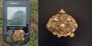 Золотые находки с металлоискателем Simplex+