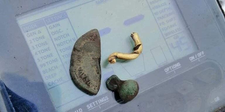 Золотые находки с металлоискателем Anfibio Multi
