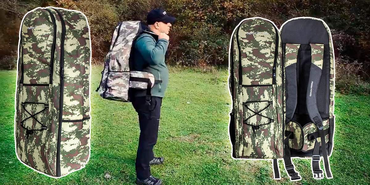 Универсальный рюкзак Nokta & Makro для металлоискателя. Новинка!