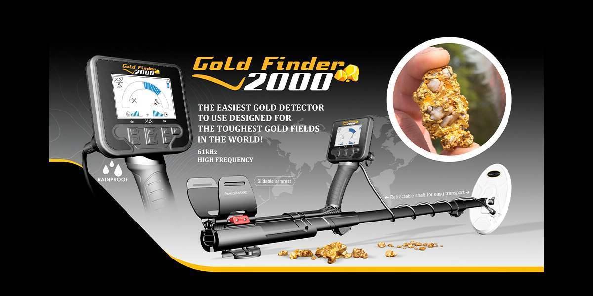 Металлоискатель Nokta Makro Gold Finder 2000. Новинка!