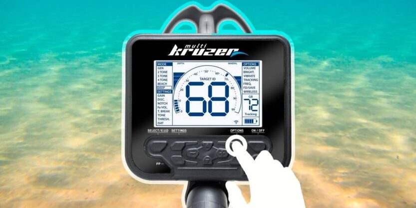 Как настроить Multi Kruzer для поиска в воде. Секреты металлоискателя